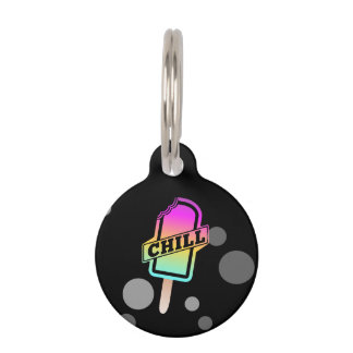 Chill Ice Block Pet ID Tag