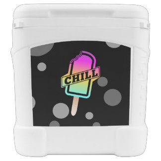 Chill Ice Block Rolling Cooler