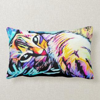 Chill Kitty Pillow