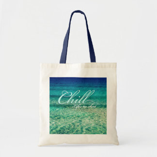 Chill. Life's too short Tote Bag