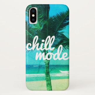 Chill Mode Blue Green Beach Scene iPhone 8/7 Case