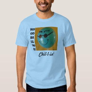 Chill Mood Balloon blue Tee Shirt