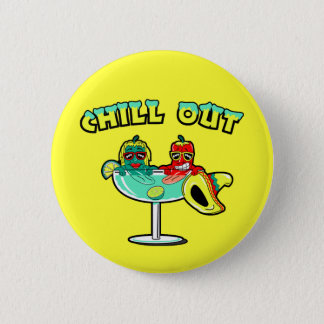 Chill Out 2 Inch Round Button