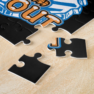 Chill Out Penguin Jigsaw Puzzle