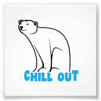 Chill Out Polar Bear Photo