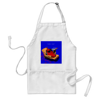 """chill out"" standard apron"