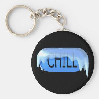 Chill Pill Blue Keychain 02