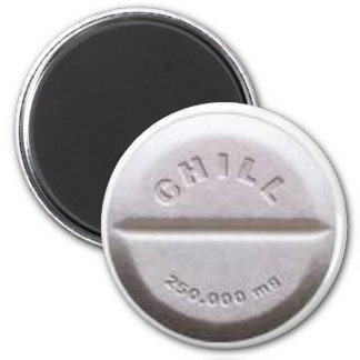 Chill Pill Magnet
