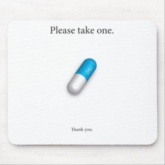 Chill Pill Mouse Mat