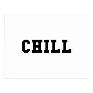 Chill Postcard