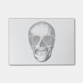 Chill Skull Vintage Sunglasses Post-It Notes