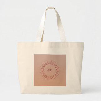 Chill Time Large Tote Bag