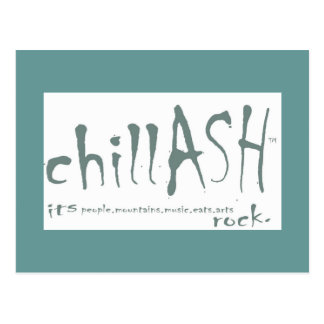 chillASH postcard