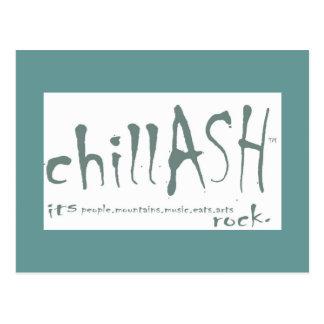 chillASH postcard