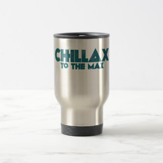 Chillax Mug De Voyage En Acier Inoxydable