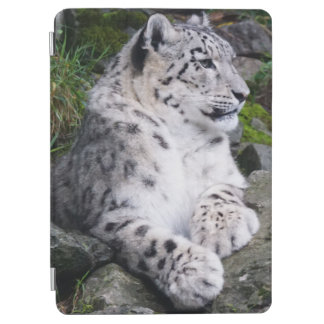Chilled Out Snow Leopard iPad Air Cover