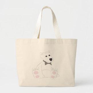 Chilled Polar Bear Tote Bag