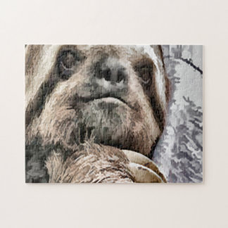 Chilled Sloth Jigsaw Puzzle