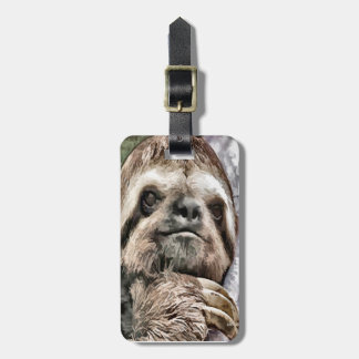 Chilled Sloth Luggage Tag