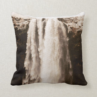 Chilled Waterfall Throw Pillow