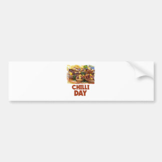Chilli Day - Appreciation Day Bumper Sticker
