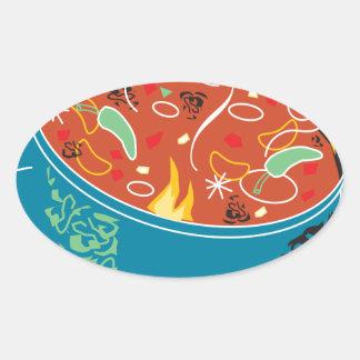Chilli Day - Appreciation Day Oval Sticker