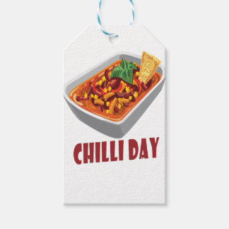 Chilli Day - Appreciation Day Pack Of Gift Tags