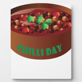 Chilli Day - Appreciation Day Plaque