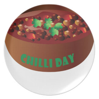 Chilli Day - Appreciation Day Plate