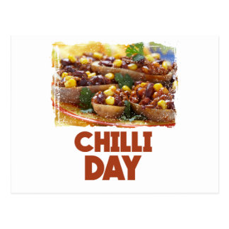 Chilli Day - Appreciation Day Postcard