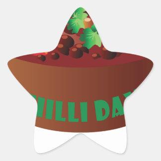 Chilli Day - Appreciation Day Star Sticker
