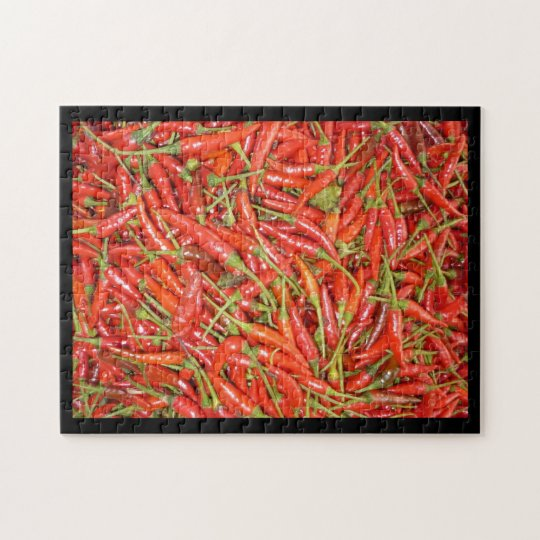 chilli jigsaw puzzle