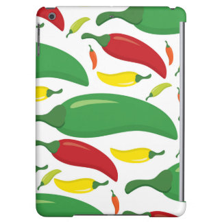 Chilli pepper pattern cover for iPad air