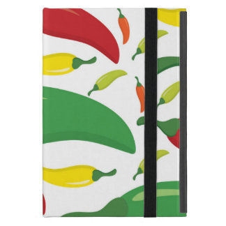 Chilli pepper pattern covers for iPad mini