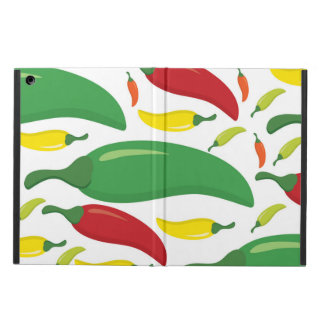 Chilli pepper pattern iPad air case