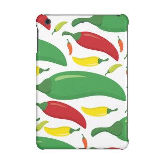 Chilli pepper pattern iPad mini cases