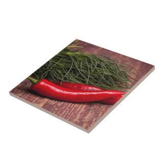 Chilli Pepper Tile