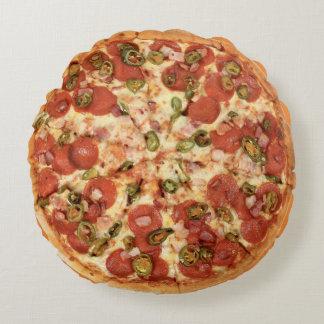Chilli Pizza Round Pillow