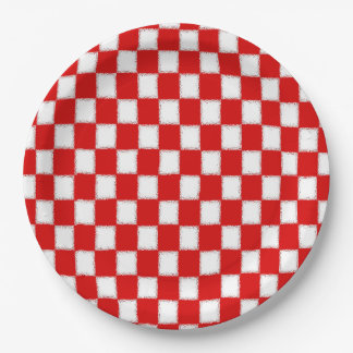 Chillin' & Grillin' Memorial Day Party Paper Plate 9 Inch Paper Plate