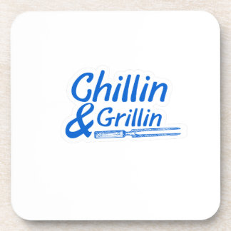 Chillin & Grillin Summer BBQ Holidays Party Family Coaster