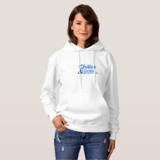 Chillin & Grillin Summer BBQ Holidays Party Family Hoodie