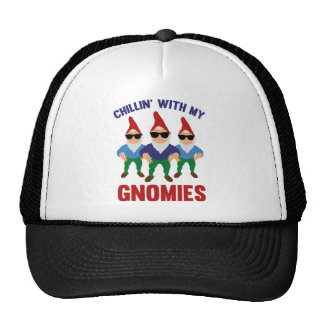 Chillin' With My Gnomies Trucker Hat