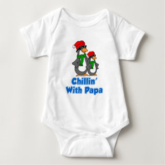 Chillin With Papa Baby Bodysuit