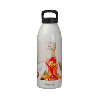 Chilling Champagne Reusable Water Bottles