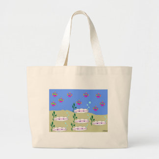 Chilling Large Tote Bag