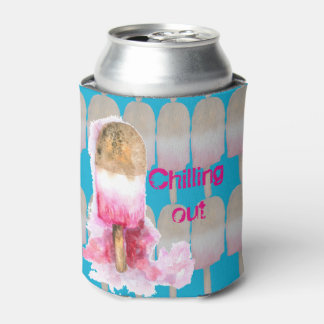 Chilling out Popsicle Can Cooler