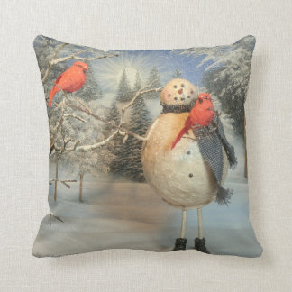 Chilling With Friends Throw Pillow