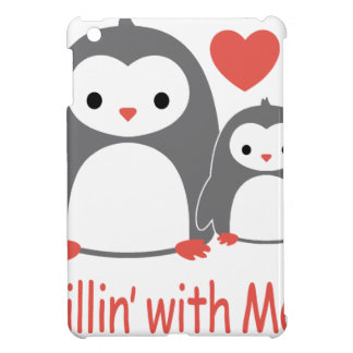 chilling with Mom, cool loving cartoons iPad Mini Covers