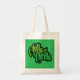 Chills And Thrills Halloween Tote Bag