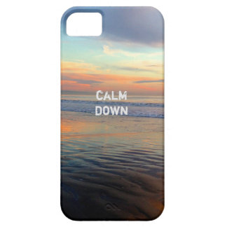 Chillwave Sunset Beach Calm Down iPhone 5 Covers
